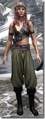 Pirate First Mate's Outfit Dyed Front