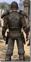 Soul-Shriven Armor Outfit - Male Close Back