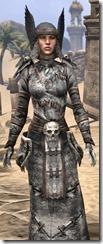 Winterborn Shaman's Costume - Female Close Front