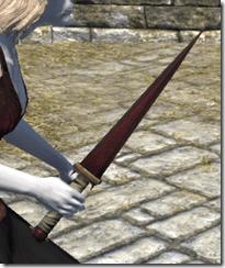 Minotaur Rubedite Dagger