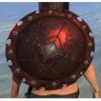 Minotaur Ruby Ash Shield