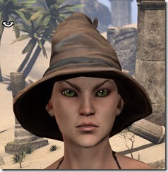 Clever Man Wizard Hat - Female Front