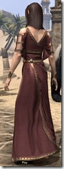 Cyrod Patrician Formal Gown - Female Back