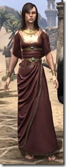 Cyrod Patrician Formal Gown - Female Front