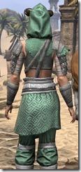 Minotaur Homespun Robe - Female Close Back