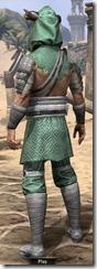 Minotaur Homespun Robe - Male Back