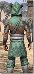 Minotaur Homespun Robe - Male Close Back