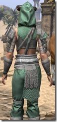 Minotaur Homespun Shirt - Female Close Back