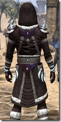 Stahlrim Frostcaster Robe - Male Close Back