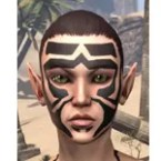 Covenant Warrior Face Tattoos
