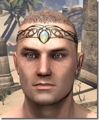 Dominion Topaz Circlet - Male Front