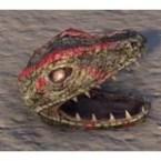 Argonian Skull, Lizard