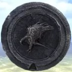 Atmoran Eagle Totem Medallion
