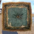 Cushion, Faded Blue