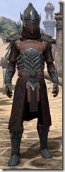 Ebony Ancestor Silk Robe - Male Front