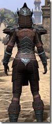 Ebony Ancestor Silk Shirt - Female Close Back