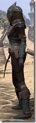 Ebony Ancestor Silk Shirt - Female Side