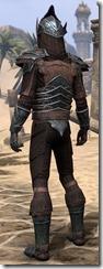 Ebony Ancestor Silk Shirt - Male Back