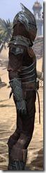 Ebony Ancestor Silk Shirt - Male Close Side