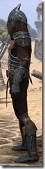Ebony Ancestor Silk Shirt - Male Side