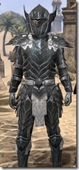 Ebony Iron - Male Close Front