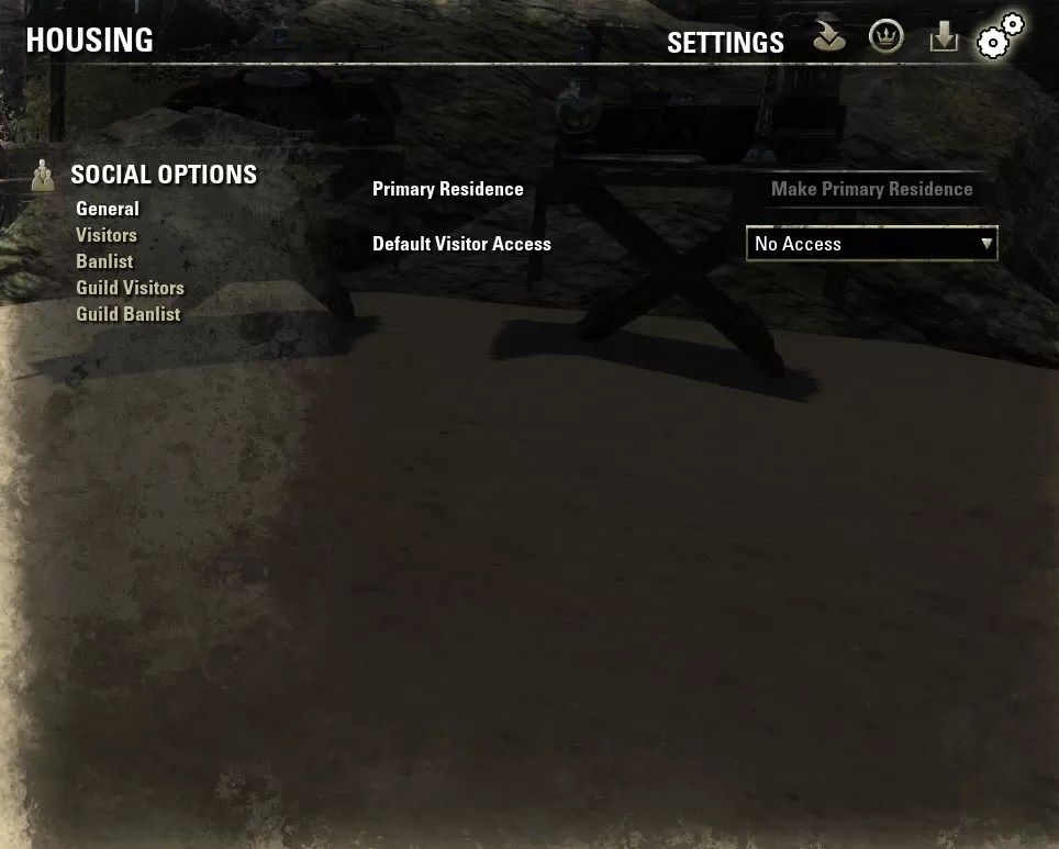 Housing Editor Settings