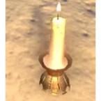 Khajiit Candle, Clawfoot