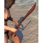 Mazzatun Rubedite Dagger