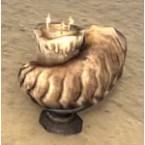Orcish Candleholder, Horn