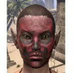 Red and Black Death Mask