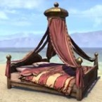 Redguard Bed, Wide Canopy