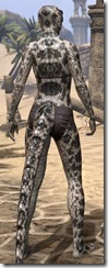 Silver-Black Serpent Scales - Female Back