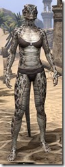 Silver-Black Serpent Scales - Female Front