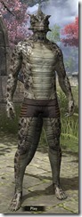 Silver-Black Serpent Scales - Male Front