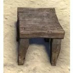Stool, Carved