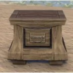 Imperial Nightstand, Scrollwork