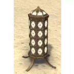 Redguard Lantern, Caged Stand