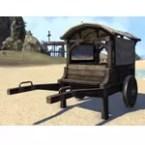Breton Cart, Covered Closed