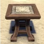 High Elf End Table, Winged