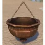 Redguard Pot, Hanging Brushed
