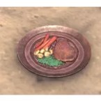 Redoran Plate, Meal