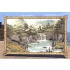 Velothi Painting, Oversized Waterfall
