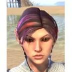 Magenta Rainbow Hair