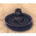 Redoran Incense Holder, Ceramic Pan