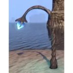 Telvanni Arched Light, Organic Azure