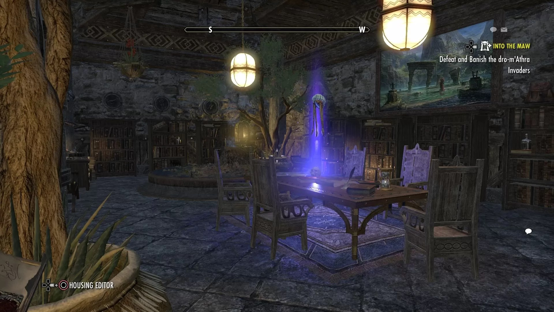 The library of Spirit and Time [PS4]