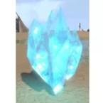 Blue Crystal Cluster