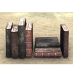 Books, Scattered Row