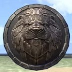 Breton Medallion, Lion