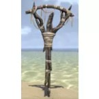 Witches Totem, Wooden Rack